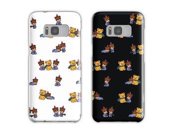 exo jongin kai bear party phone case; exo jongin kai kpop phone cases for iPhones, Galaxy, LG, Google Pixel
