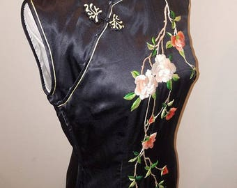 cheongsam vintage chinese floral