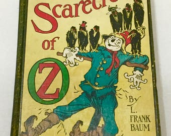 L. Frank Baum The Scarecrow Of Oz Reilly & Lee Chicago 1915 Book