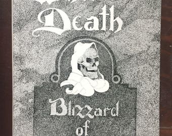 White Death Blizzard of 77 - Buffalo New York HC Book By Erno Rossi