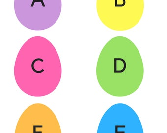 Easter Egg Flashcards