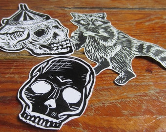 Pack of 3 stickers DIY