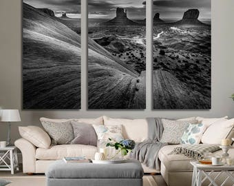 Monument Valley Print US Landscapes Multi Panels Print Multi Pieces Print Extra Large Print