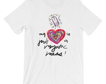Mysterious Messenger Mystic Messenger Short-Sleeve Unisex T-Shirt