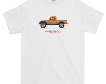 Hedrick Speedsports Orange Jeep pickup Short-Sleeve T-Shirt