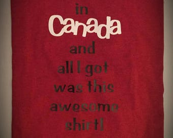 Christmas In Canada T-Shirt