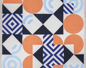 Eames Blocks Quilt Pattern PDF Download