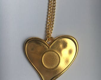 Chunky Handmade Gold Necklace for girls