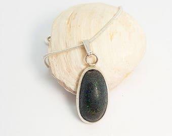Andamooka Matrix Opal Aromatherapy Pendant 331