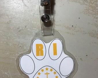 Rhode Island Furry tag