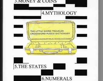The Little Word Traveler Crossword Puzzle Dictionary