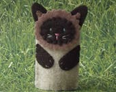 Kitty Cat Finger Puppets - Assorted Cats - Golden Ginger - Black Cat - Cat Puppets - Felt Cat Finger Puppet - Felt Finger Puppet Kitty Cat