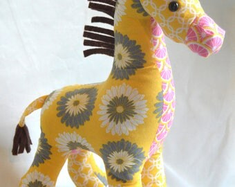 Stuffed Giraffe Toy Toys for Baby Rhinos African Toy Animal