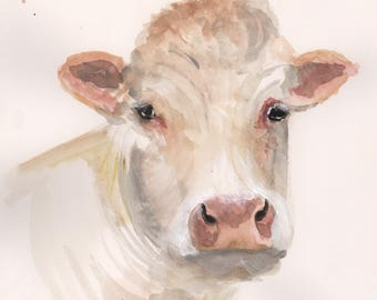 Cow - Art Print
