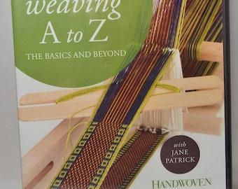 Inkle Weaving A to Z, DVD, spinning, weaving, threadsthrutime, fibers, spindles, inkle weaving,