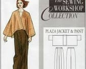 The Plaza Jacket & Pant pattern by The Sewing Workshop