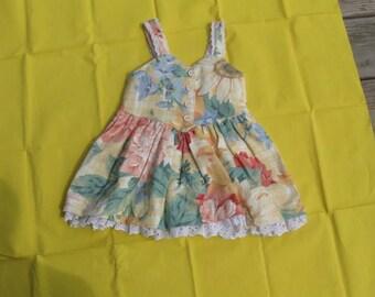Sundress size 2T, Floral Summer Dress