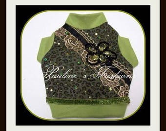 Dog Clothing Steampunk To Order Cheetah Tank Shirt