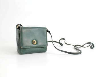 Vintage Bottega Veneta Mini Leather Bag | Bottega Veneta Structured Leather Crossbody Bag | Small Leather Box Shoulder Bag