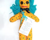 DAMMIT or DANG IT Stress Relief Doll