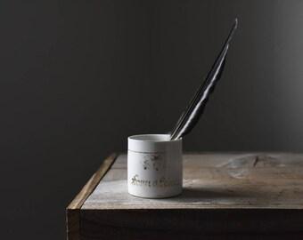 Porcelain Cup, Antique Souvenir Mug, Porcelain Mug, Souvenir, 1800s, Keepsake Cup, Friendship