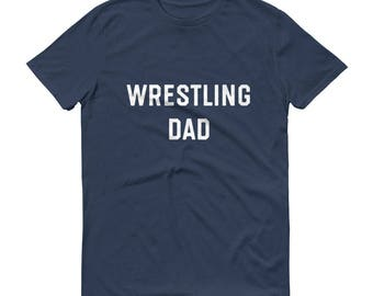 Wrestling Dad Shirt Wrestling Dad T Shirt Wrestling Dad TShirt Wrestling Dad T-Shirt Wrestling Dad Tee Dad Wrestling Shirt Varsity Dadlife