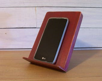 Smart Phone Stand, Tablet Stand, Online Recipe Holder, Photo Stand, Book Holder, Kitchen Office Bedroom Smartphone Prop