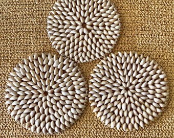 Cowrie Shell Trivets