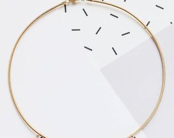 Radian Necklace, FORMICA® Necklace, Signature Necklace, Statement Necklace, Pastel Jewelry, Scandinavian design