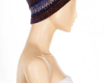 Crocheted Beanie - Very Soft and Machine Washable!