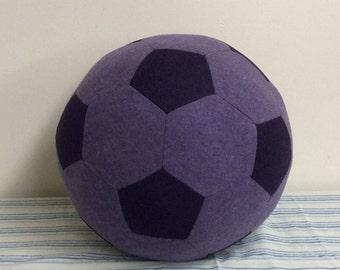 Fabric Soccer Ball 12-inch- Wool