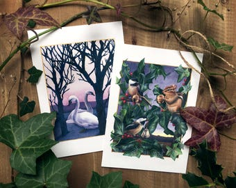 Clear & Bright - Holiday Greeting Card Set