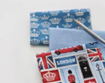 London Sky Cotton FAT Eighth set of 3, U340
