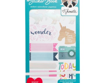 Shimelle Designer #Sticker Book American Crafts Planner Sticker (344863)