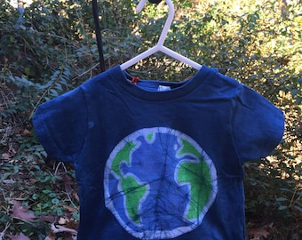 Kids Earth Day Shirt, Kids Earth Shirt, Boys Earth Day Shirt, Girls Earth Day Shirt, Batik Earth Kids Shirt, Toddler Earth Shirt (18 months)
