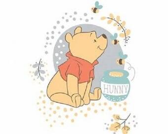 Winnie the Pooh Bear, White Panel