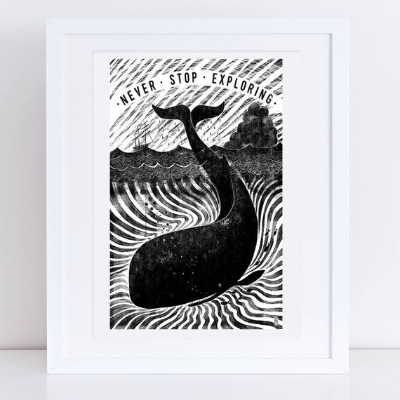 Whale One 2017 - Signed print