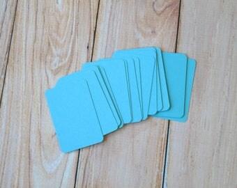 Sky Blue Vintage Series Business Card Blanks