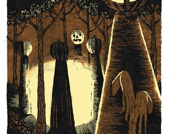 Into The Woods // OTV Members Only // Mini-Giclee Edition of 50