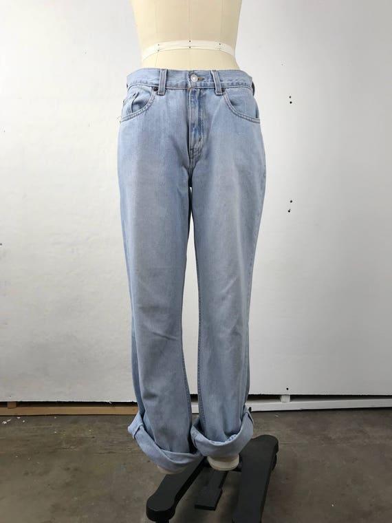 90s Levi's Light Wash 515 Jeans