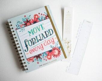 2017-2018 Modern Weekly Calendar Planner, Organization Gift for Teen Girl, Daily Academic Planner,Month View Travel Agenda Book Spiral Bound