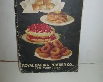 Royal Cook Book  1928