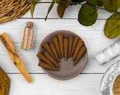 Palo Santo Incense Cones - All Natural Hand Rolled - Bag of 3, 6 or 12 - Paolo Santos, Holy Wood - Organic, Vegan, Bohemian, Yoga Incense
