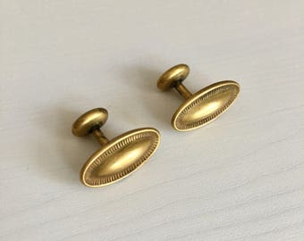 Antique Pair Edwardian Cufflinks