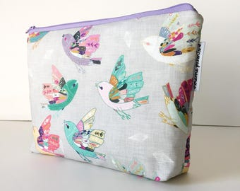 project bag -- linen sparrows