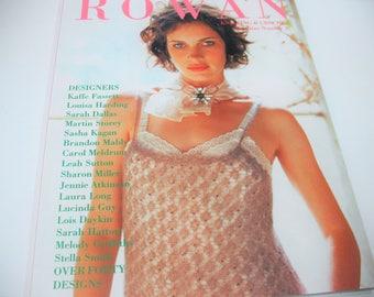73% off Rowan Knitting & Crocheting Pattern Book #37 Magazine Spring/Summer 40+ Designs