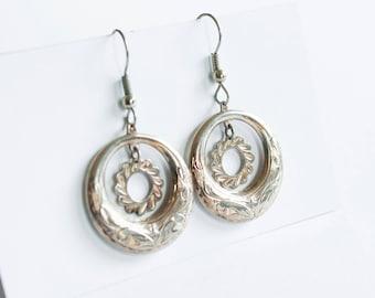 Silver Indian Style Earrings