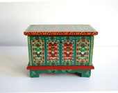 Polish Hand Painted Wooden Jewelry Box
