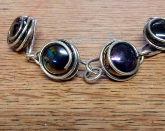 1960s Vintage Glass Beaded Bracelet