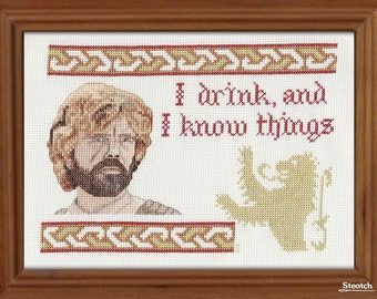 Steotchalong - I Drink and I Know Things - Instant Pattern